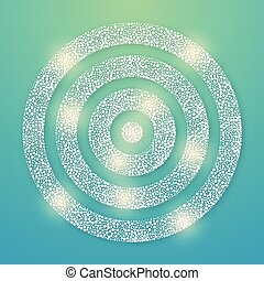 Lens flare light vector background eps 10