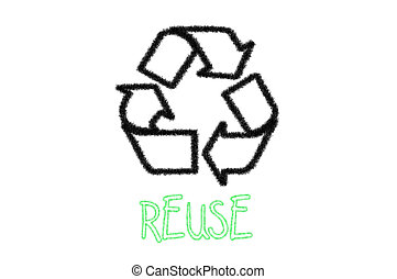 Reuse recycle sign
