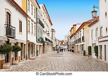 Tomar city center, Santarem District in Portugal