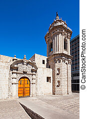 Santo Domingo Church in Arequipa city, Peru