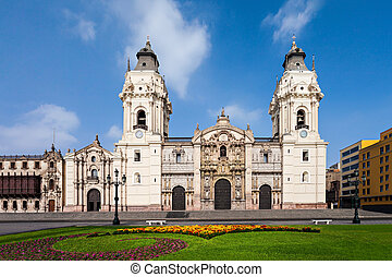 Basilica Cathedral, Lima - The Basilica Cathedral of Lima is...