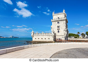 Belem Tower, Lisbon - Belem Tower is a fortified tower...