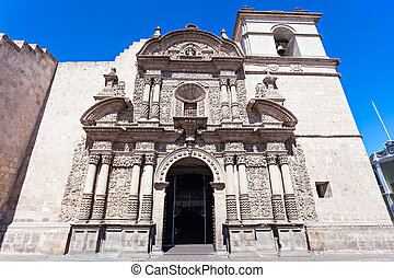 Iglesia de Compania - Jesuit Church of the Company of Jesus...