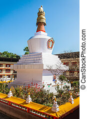 Do Drul Chorten is a buddhist stupa in Gangtok in the Indian...