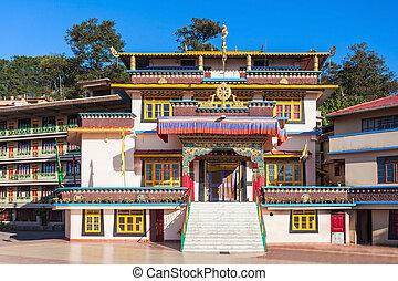 Gonjang Monastery, Sikkim - Gonjang Monastery is a buddhist...