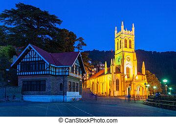Christ Church, Shimla - Christ Church in Shimla is the...