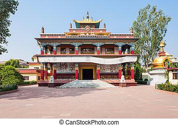 Mahabodhi Temple, Bodhgaya - Tibetan Karma Kagyu Temple...