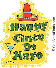 Cinco De Mayo Celebration - Happy Cinco De Mayo greeting...