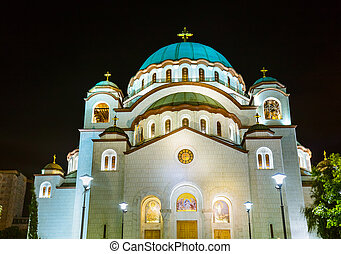 St Sava Cathedral - Belgrade - Serbia - architecture travel...