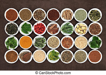 Health Food for Men - Health food and herb selection for men...