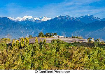 Kangchenjunga viewpoint, Pelling - Kangchenjunga viewpoint...