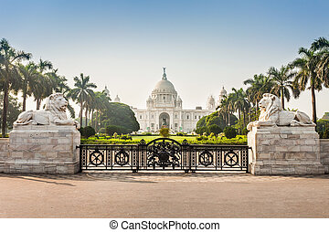 Victoria Memorial, Kolkata - Victoria Memorial Building in...
