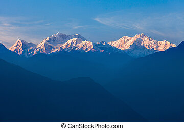 Kangchenjunga mountain view - Kangchenjunga is the third...