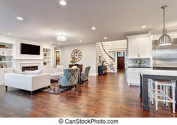 Furnished living Room New Home - Beautiful New Furnished...