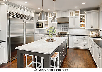 kitchen in luxury home - Beautiful Kitchen in Luxury Home...