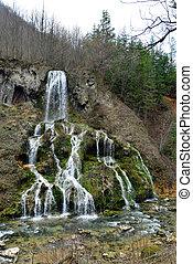 carsa romania waterfall - romania minis valley nera river...