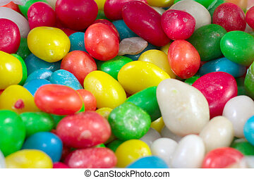 colorful round candy - a heap of colorful round candy sugar...
