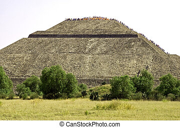 Pyramid of the Sun in Mexico