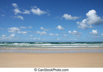 Noosa North Shore Beach and Clouds 2 - Noosa North Shore...