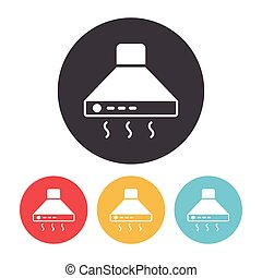 Cooker hoods icon