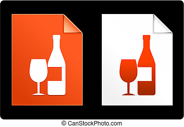 Wine on Paper Set