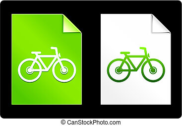 Bicycle on Paper Set