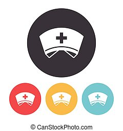 Nurse hat Stock Illustrations. 1,574 Nurse hat clip art images and ...