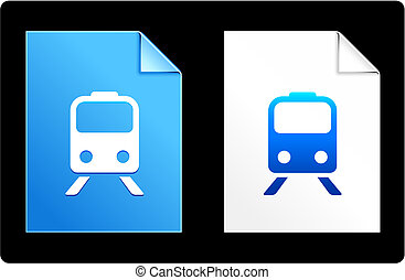 Subway on Paper Set Original Vector Illustration AI 8...