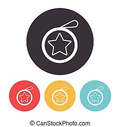 toy yo-yo icon
