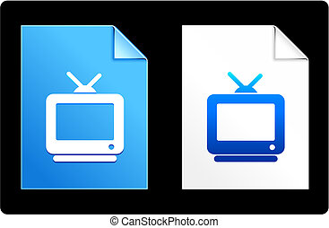 Television on Paper Set