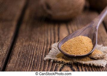 Portion of Coconut Sugar