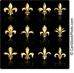 fleur de lis design collection
