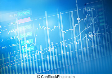 stock market investment trading, candle stick graph chart,...