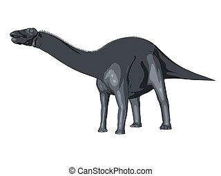 3d sketch render of a  dinosaur