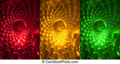 traffic light - the part of traffic light close up