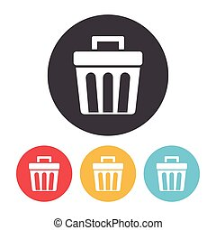 trash can icon