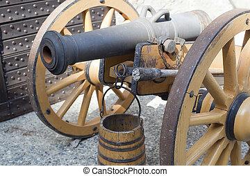 Bard, cannone - Bard, Valle daosta, cannone epoca...