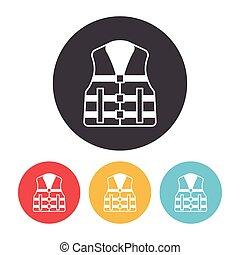 Life jacket icon