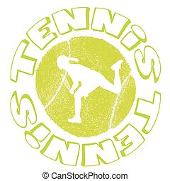 Tennis icon design