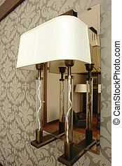 Lamp on the wall