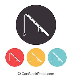 Fishing rod icon