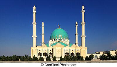 Mosque in Geok Depe Turkmenistan