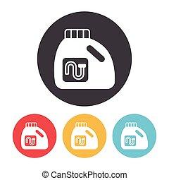 Laundry detergent icon