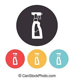 Dish detergent icon