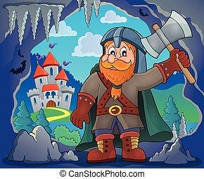 Dwarf warrior theme image