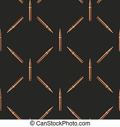 Rifle Bullets pattern background - Rifle Bullets seamless...