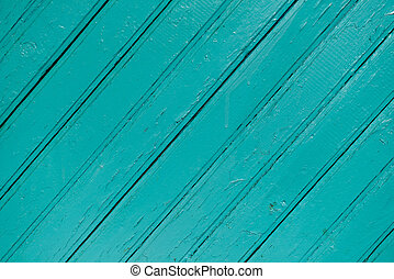 Blue wood painted background with side light and diagonal...