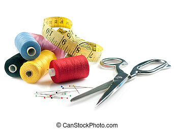 Sewing stuff - Concept photo