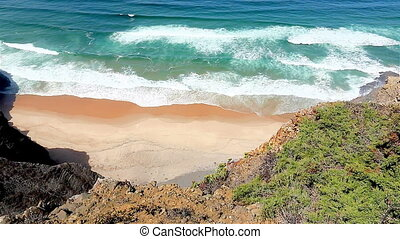 Private beach west coast Portugal - Private beach of...