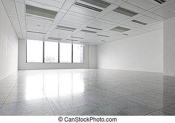 Modern building interior - Empty Modern building Office...